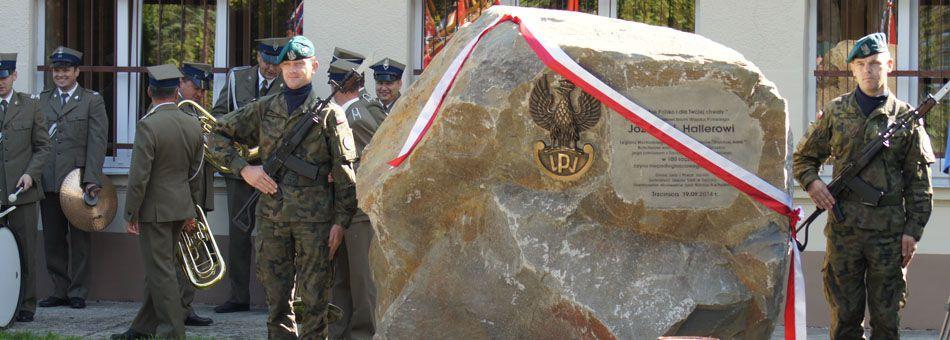 Uroczyste odsłonięcie obelisku
