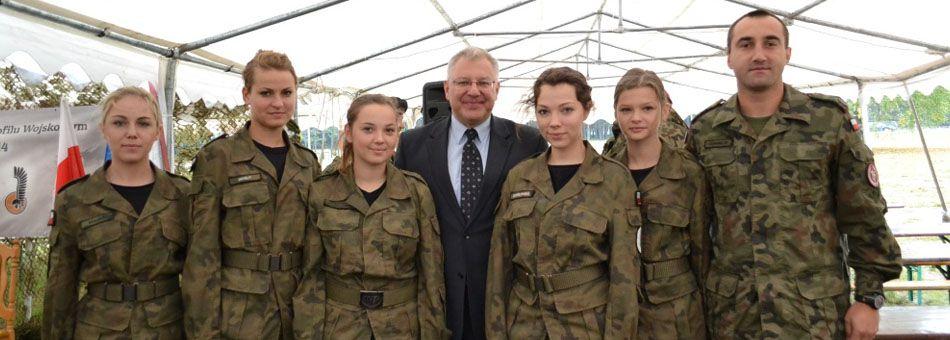 Żagań - wojskowa przygoda klas mundurowych