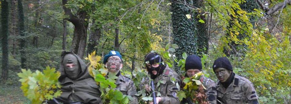 Obóz mundurowy w naszej szkole